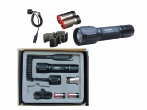 Lanterna Nextorch T6A Tactical Flashlight  Hunting Kit