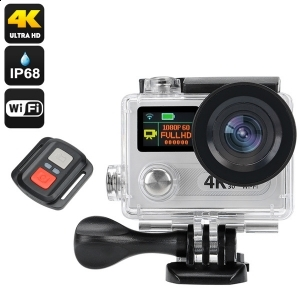 Action camera 4K ULTRA HD submersibila